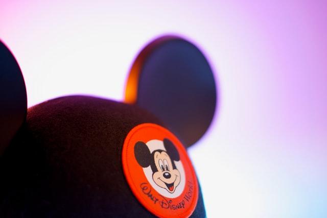 ミッキー帽子